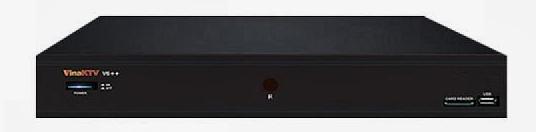 Vina-KTV-V6++ Thiết kế trang nhã, tối giản các nút bấm
