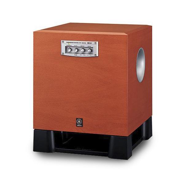 Loa Sub Yamaha 515 thiết kế nổi bật với màu cherry vân gỗ
