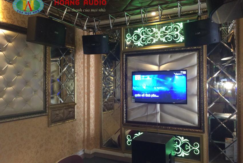Phòng demo test âm thanh tại các showroom của Hoàng Audio
