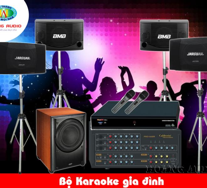 bo dan karaoke gia dinh cao cap gia re - HoangAudio