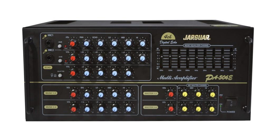 amply-jarguar-506e thiết kế roc ràng dễ sử dụng