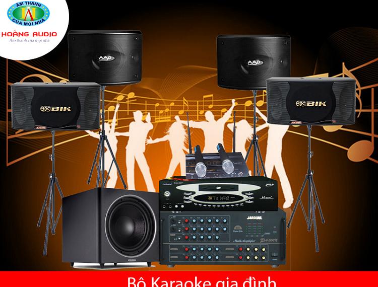 dàn karaoke gia đình