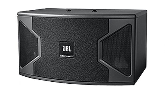 Loa JBL KS 308 với thiết kế vuông vức