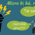 Nguyên nhân và khắc phục micro bị hú trong dàn karaoke gia đình