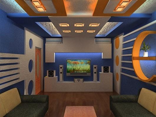 phòng karaoke thiết kế tránh hiện tượng cộng hưởng