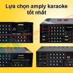 Cách chọn ampli phù hợp với loa trong bộ dàn karaoke gia đình