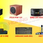 Nên mua dàn karaoke gia đình trọn bộ hay ghép bộ tầm giá bao nhiêu?