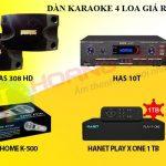 Dàn karaoke 4 loa COMBO khuyến mãi đặc biệt đón TẾT 2018