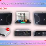 Thanh lý bộ dàn karaoke gia đình chuyên nghiệp từ 60 còn 38,6 Triệu