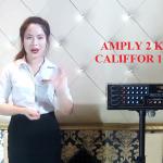 Có nên mua và sử dụng amply karaoke California 128B-II hay không?