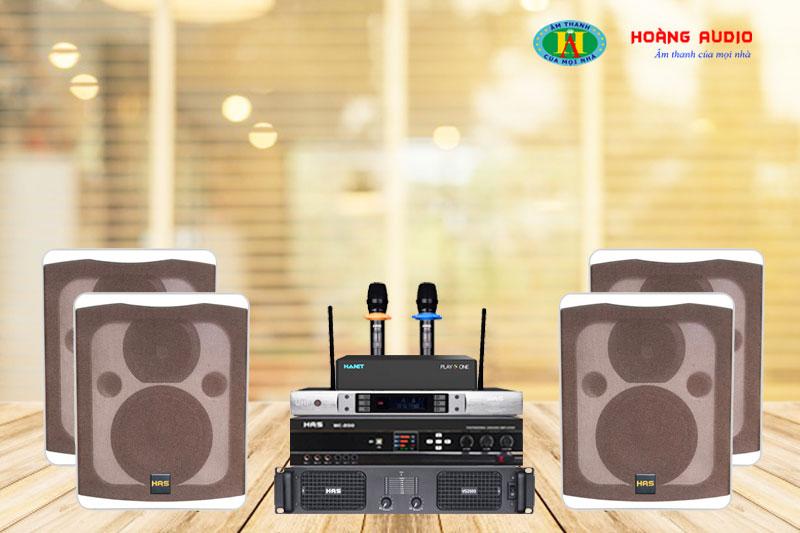 Bộ dàn karaoke HAS 4.0-GD11