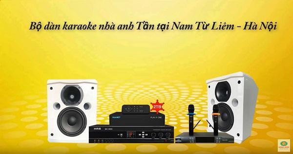 ảnh đại diện dàn karaoke nhà anh Tần