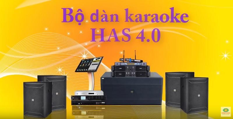 bộ dàn karaoke gia đình anh Việt