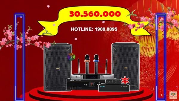 dàn karaoke gia đình anh Sơn
